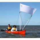 Pacific Action Vela para Kayak 2.2 m2